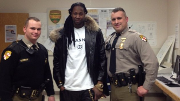 Rapper 2 Chainz Busted in Maryland