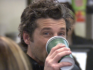 Patrick Dempsey on Coffee and Weed