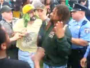 Activists Arrested at Philly Pot Rally