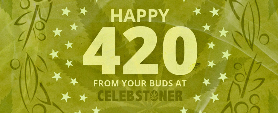 Happy 4/20 from Your Buds at CelebStoner