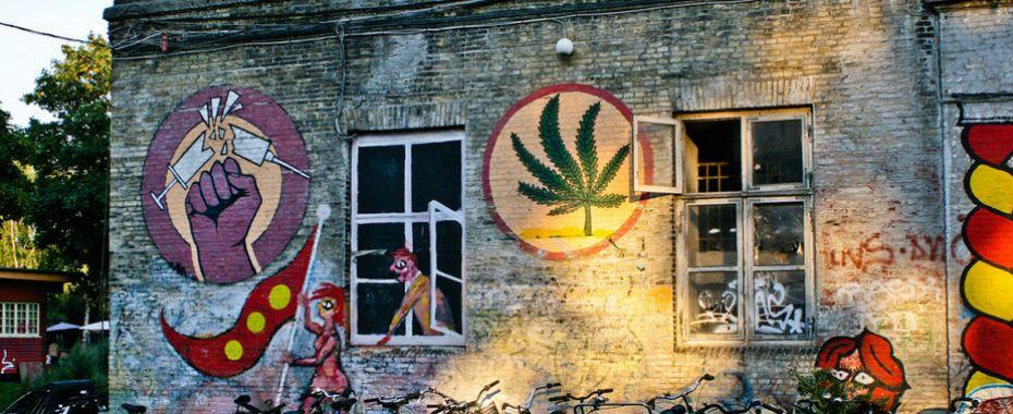 Christiania's Pusher Street Shut Down in Copenhagen
