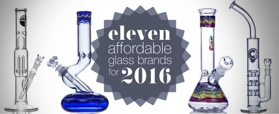 11 Affordable Glass Bong Brands for 2016