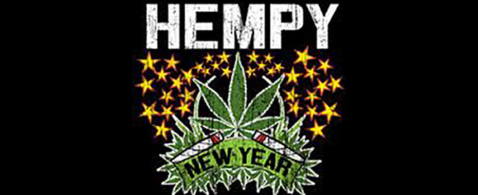 Hempy New Year from CelebStoner!
