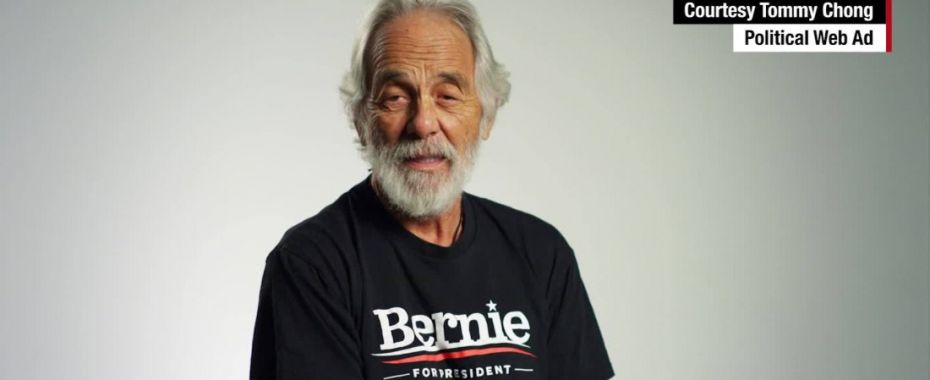 Bernie Birthday Bummer for Tommy Chong