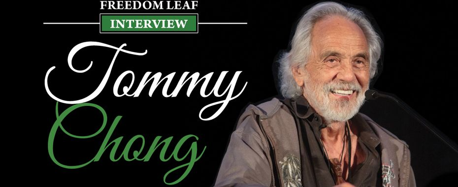 Tommy Chong Wows Crowd at ICBC in Vancouver