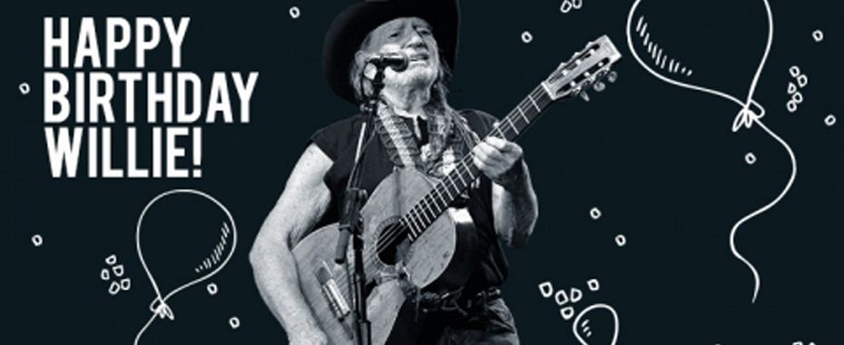 Happy 83rd Birthday, Willie Nelson!
