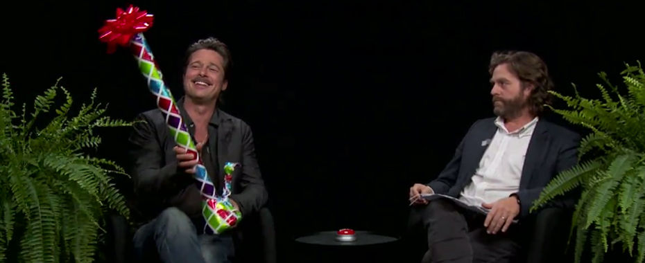 Brad Pitt: 'We Don't Bassoon in My House Anymore'