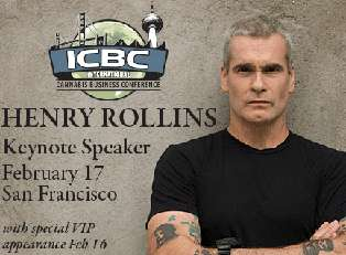 Henry Rollins, John Salley and Lori Ajax Headline ICBC in San Francisco