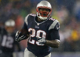 Patriots' Blount Recieves Community Service for Pot Charge