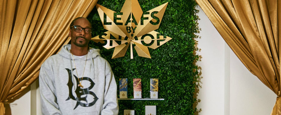 Snoop Dogg Jumps Into Celebrity Pot Market