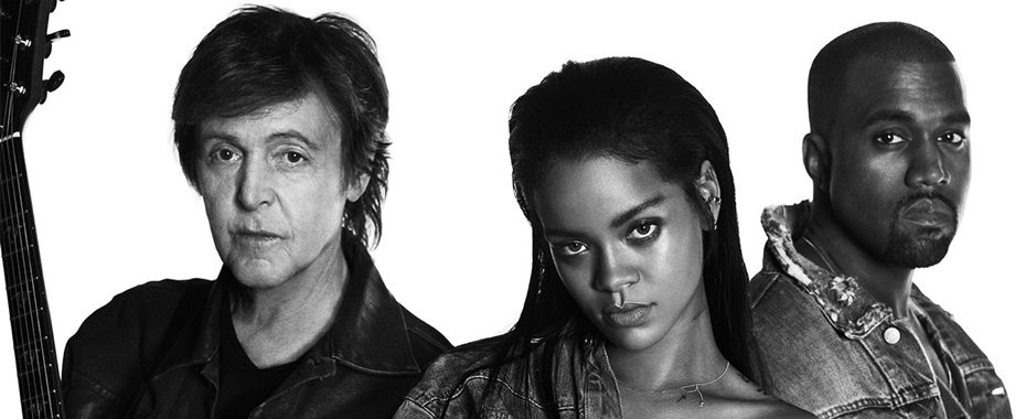 McCartney Teams Up with Rihanna and Kanye West on 'FourFiveSeconds'