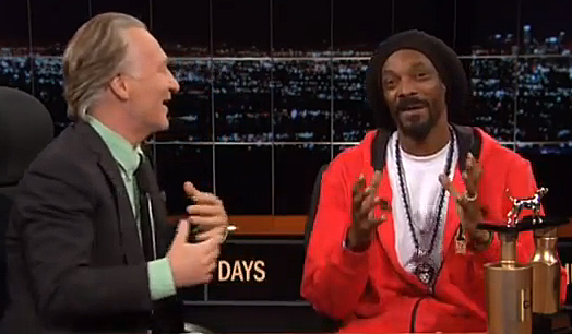 Bill Maher to Snoop Lion: 'You Smoke Too Much Pot'
