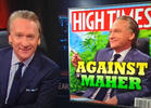 Bill Maher Finally Appears on the Cover of High Times