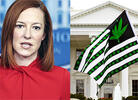 Jen Psaki Tries to Explain Why Five White House Staffers Were Fired for Admitting Past Marijuana Use