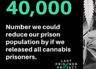 40,000-Plus Cannabis Prisoners in the U.S., LPP Confirms