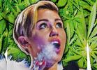 Miley Cyrus Tokin' Weed Sweatshirt