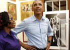 Obama in Jamaica: Discusses Ganja, Visits Marley Museum