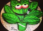 Rihanna's 4/20 Cake