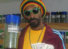 Snoop Lion at L.A.'s Kushmart