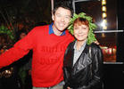 Susan Sarandon Parties with High Times