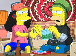Marge And Homer Face Off On Pot In New Simpsons Episode