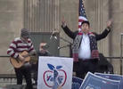 'Hash Pipe' Band Weezer Performs for Andrew Yang in Iowa