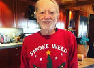 Willie Nelson Received This High Holidaze Gift from Snoop Dogg