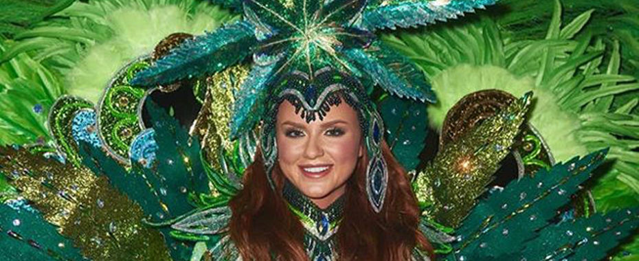Canada's Miss Universe Contestant Dons Marijuana Outfit