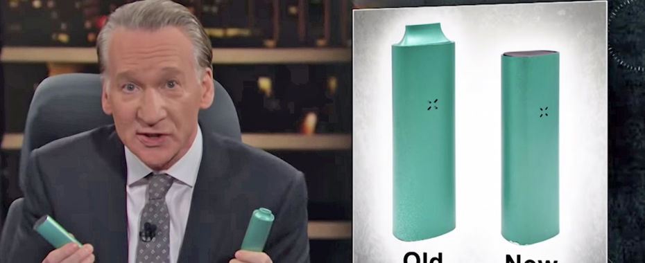 Bill Maher Rips Pax and Vape Pens on 'Real Time'