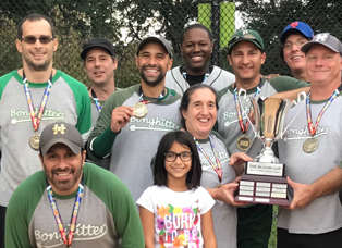 High Times Repeats as Media Softball Champions