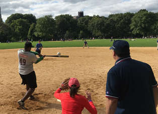 High Times Edges Wall St. Journal to Win Media Softball Title