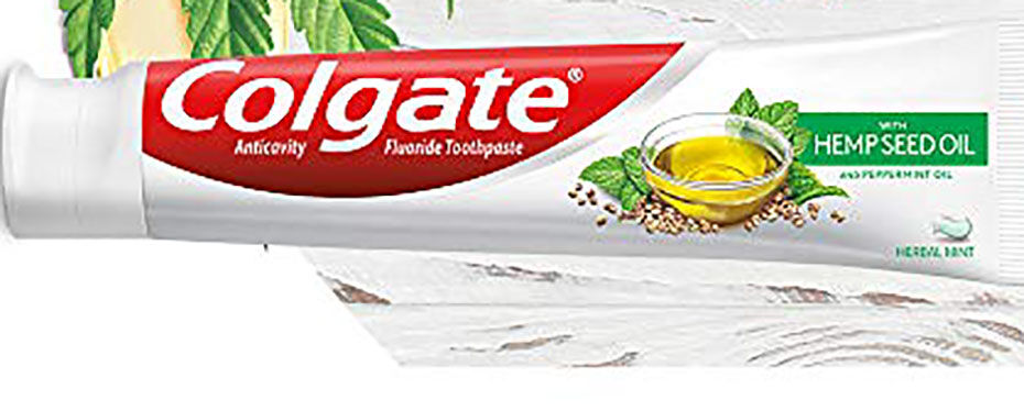 Colgate Rolls Out Hemp Oil Toothpaste