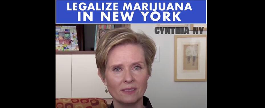Cynthia Nixon: 'I've Only Smoked Pot Twice in My Life'