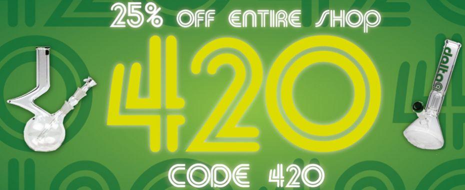 Headshop Headquarters' 420 Sale