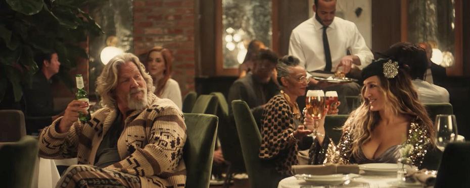 The Dude Abides in Stella Artois Super Bowl Ad