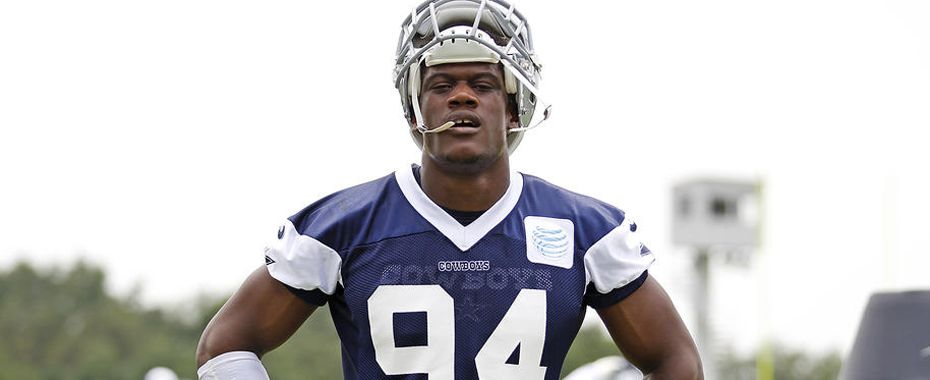 Cowboys' Randy Gregory Suspended One Year for Multiple Pot Positives