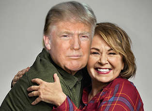 Roseanne Barr and Donald Trump's Lovefest Is Deplorable