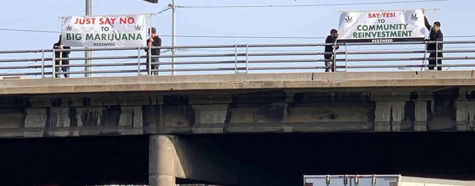 SXSW Protesters Target John Boehner and MedMen's Adam Bierman