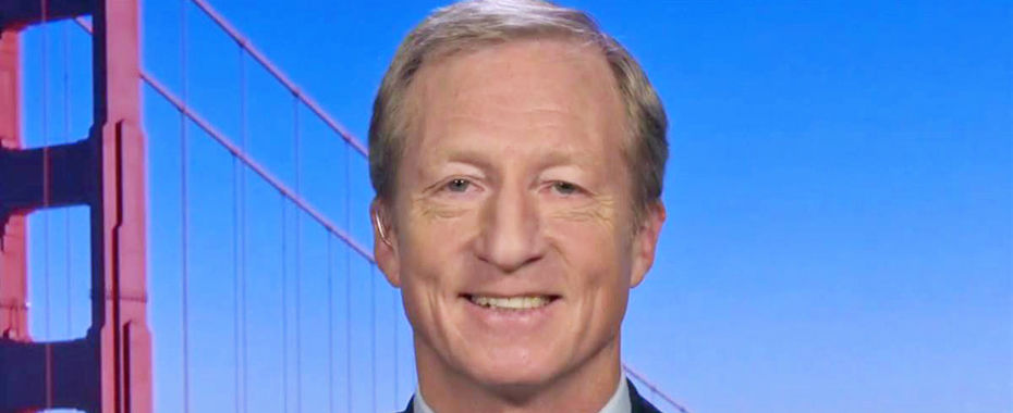 Tom Steyer: 'I've Smoked Marijuana Outside the Country'