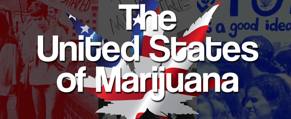 States Where Marijuana Is Legalized, Decriminalized or Medicalized