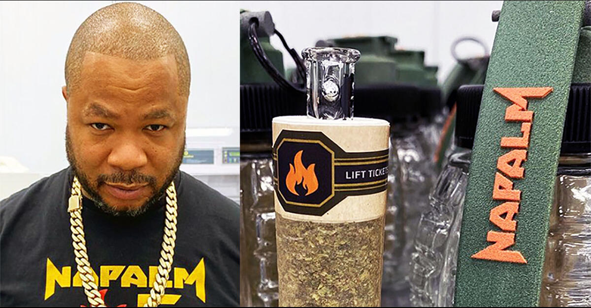 photo of Rapper Xzibit Napalm Cannabis Brand Controversy image