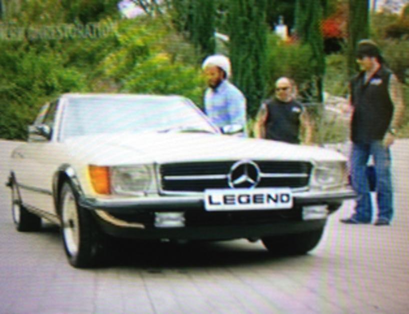Restored: Bob Marley\'s Legendary Mercedes